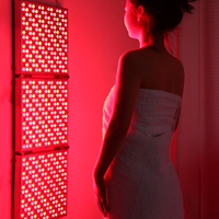 Seaconch Red Therapy Light 135W Panel Device Infra Led Full Body Lamp Infrared Face Reg Rowth Medical for Skin Red Light Therapy