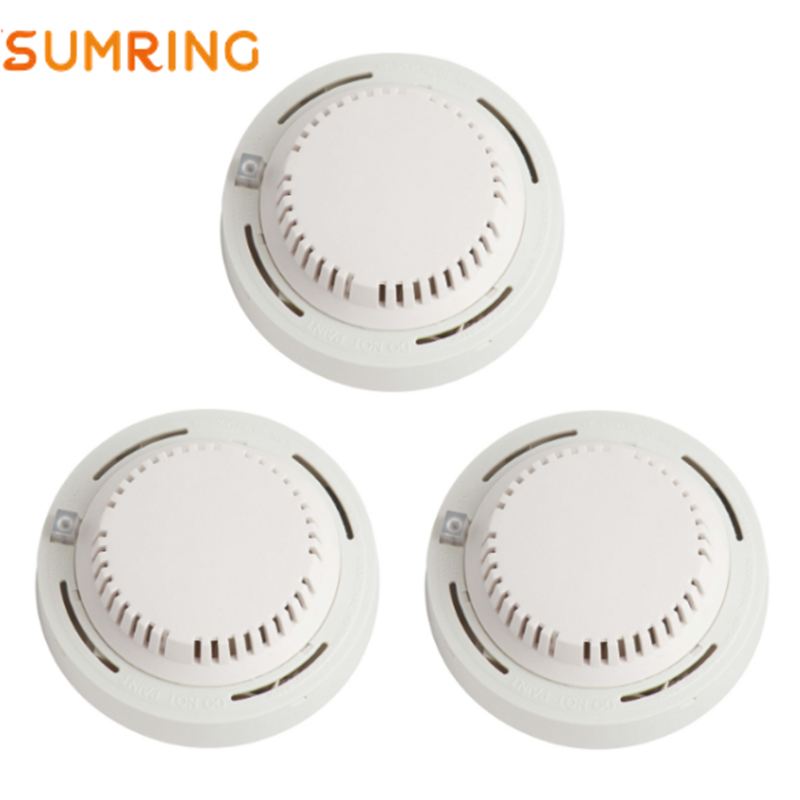 Wireless Smoke Alarm Detector Independent Photoelectric Smoke Sensing
