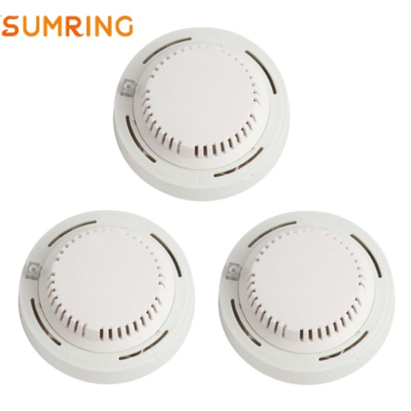 Wireless Smoke Alarm Detector Independent Photoelectric Smoke Sensing