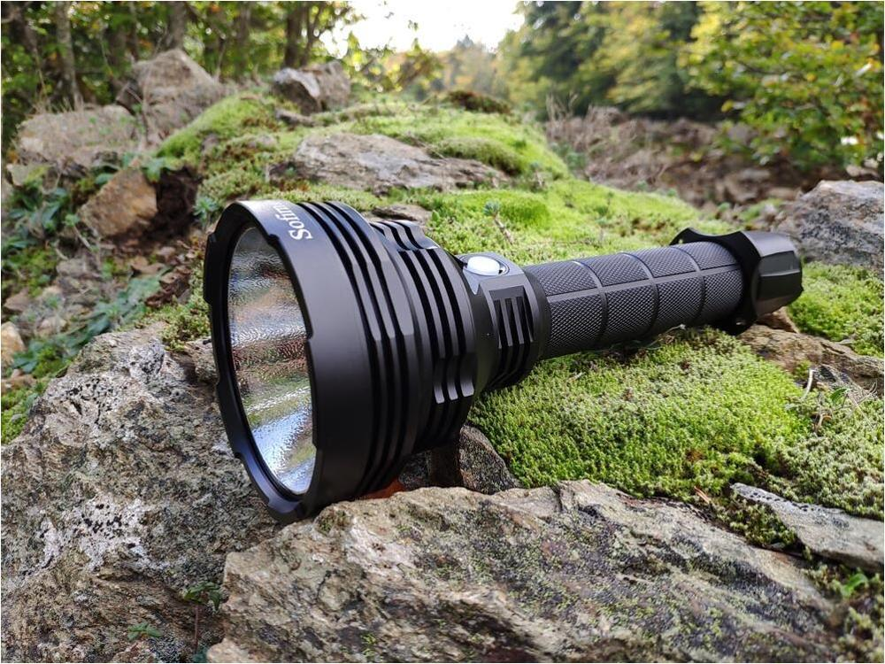 Sofirn SP70 Ultra bright 26650 LED Flashlight High Power 5500LM Tactical 18650 Light Cree XHP70.2 With ATR 2 Groups Ramping 5