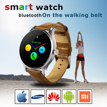 2020 Smart Watch 1.22 Inch IPS Round Screen Support Sport Heart Rate Monitor Bluetooth SmartWatch For Apple Huawei IOS Android