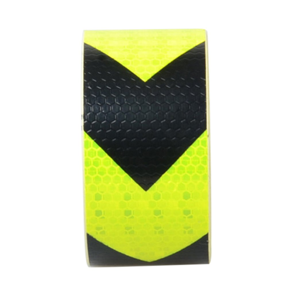 Reflective Safety Warning Tape Road Traffic Construction Site Reflective Arrow NEW Long Self-adhesive PVC 5CM Width 45M 3M Bag