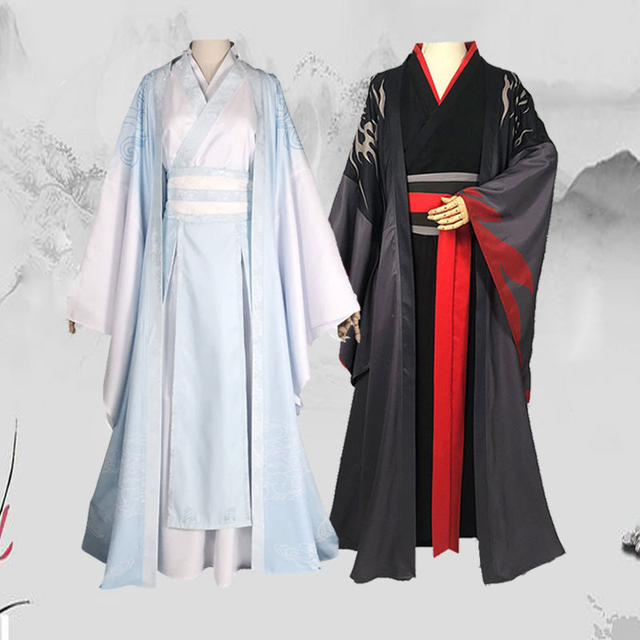 Купить косплей костюм koumoto's weiyoung аниме мастер демона голубой картинки