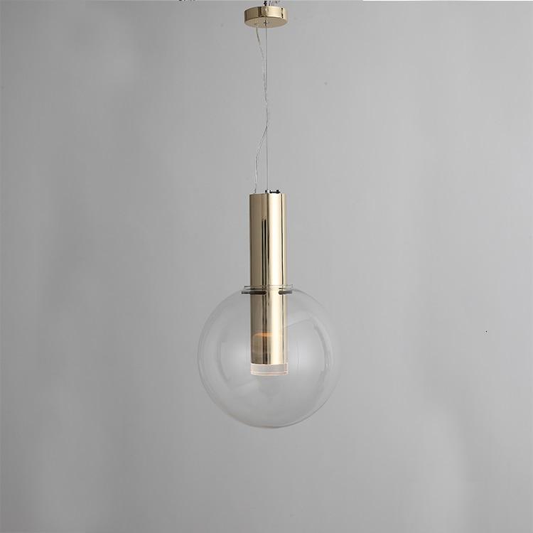 Clear Color Pendant Light Led/ Energy Saving Hanging Light Glass Lamp Shade Restaurant Lighting Furniture Led Kitchen Lamp|Pendant Lights| |  - title=