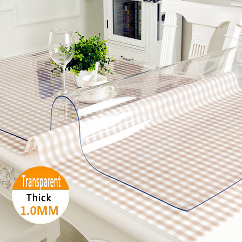 Withme Silicone Oilcloth Flexible Glass On The Table Soft Glass Liquid Silicone Tablecloth Transparent Oilcloth On The Table