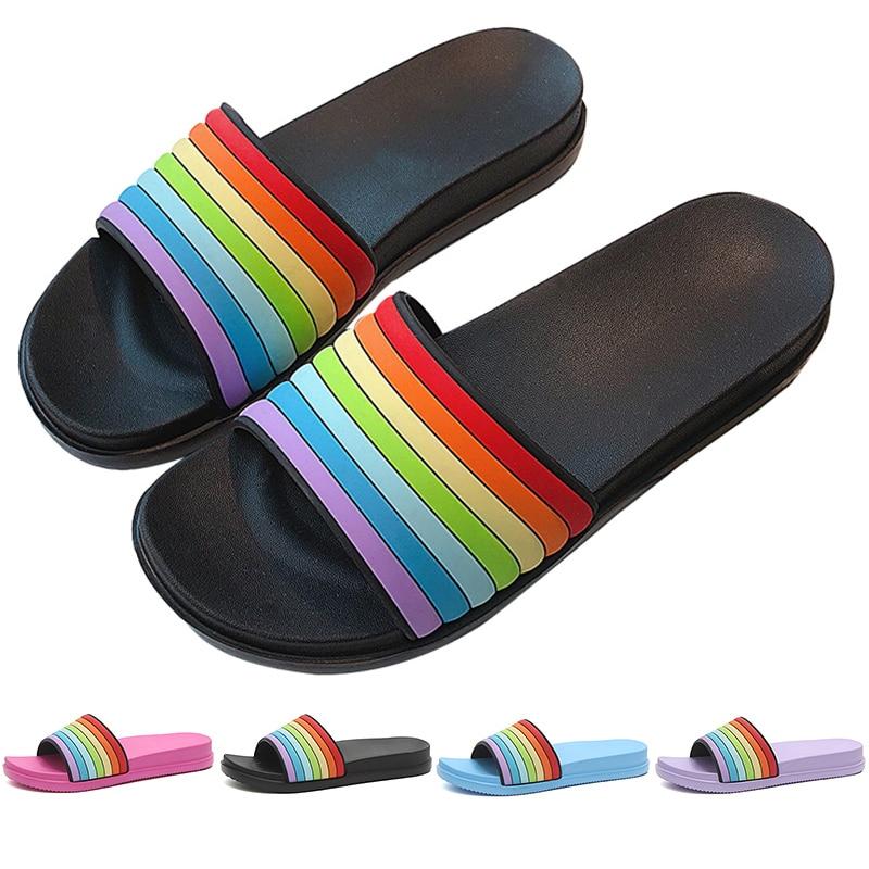 Cartoon Fun Pineapple Faces Summer Slide Slippers For Men Women Kid Indoor Open-Toe Sandal Shoes