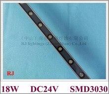 Светодиодный прожекторы SMD 3030 мыть стены светодиодный рекламный светильник DC24V алюминиевый SMD3030 18 светодиодный 18 Вт 1800lm IP65 1000 мм * 30 мм * 20 мм