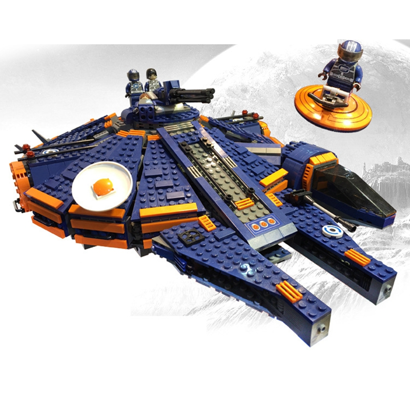 In Stock 1566Pcs Compatible Lepins Star Wars Millennium 79211 Falcon Spacecraft Building Blocks Birthday Gift Toys