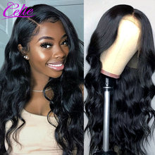 Celie Body Wave Lace Front Wigs 28 30 Inch Lace Front Wig 360 Lace Frontal Wig For Black Women 13x6 Lace Front Human Hair Wigs