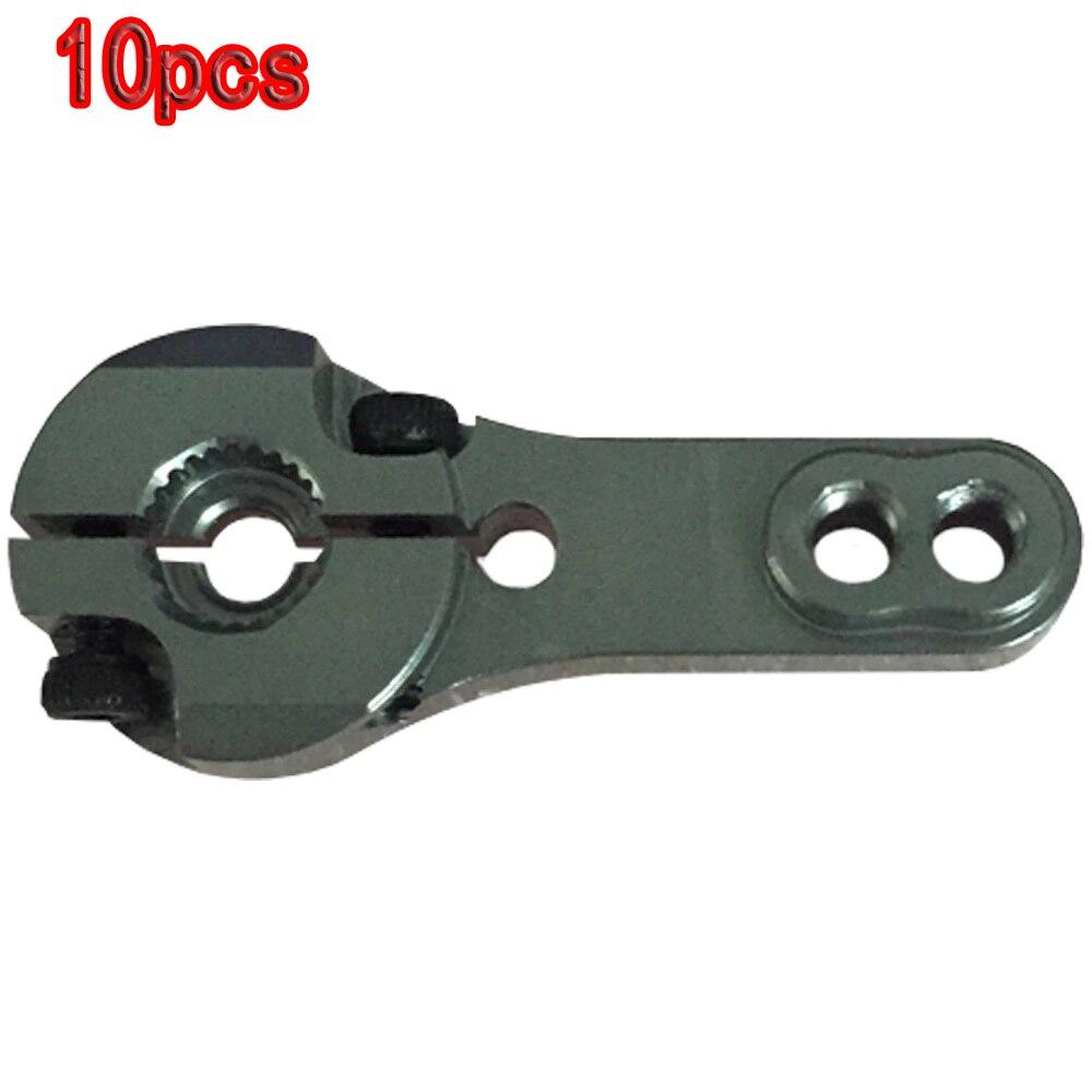 10pcs Aluminum 25T Servo Arm Horn for Futuba HD Servo MG995 MG996R MG946 R