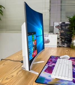 Ordenador de sobremesa WIFI AIO con CPU i5 RAM 16GB SSD 1TB GTX1050Ti y monitor lcd curvado FHD de 27 pulgadas
