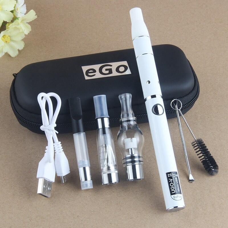UGO 4 In 1 Starter Kits EVOD CE4 Vape Pen 510 Thread Battery Micro USB Passthrough Electonic Cigarette UGO V Multi Vaporizer Kit