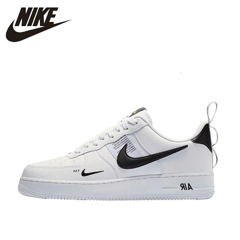NIKE Original Air Force 1 Men's Skateboarding Shoes Comfortable Outdoor Support Sports Sneakers For Men # AJ7747