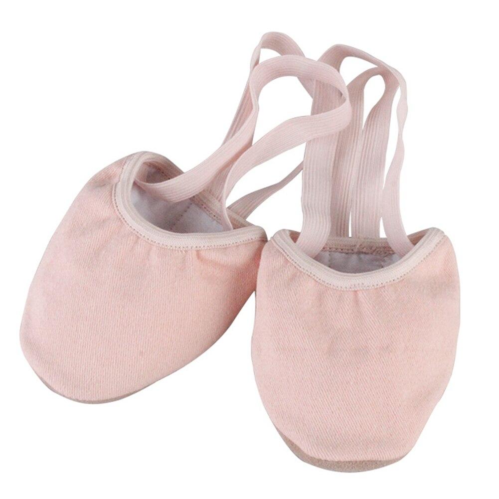 1 Pair Women Art Ballroom Elastic Dance Training Gymnastics Soft Solid Fitness Half Socks Gift Rhythmic Ballet Shoes Knitted
