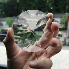 Pendants Hanging-Ornament Prisms Chandelier Crystal Glass Suncatcher Clear Home-Decoration