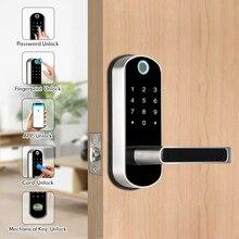 Waterproof Smart Thumbprint Door Lock