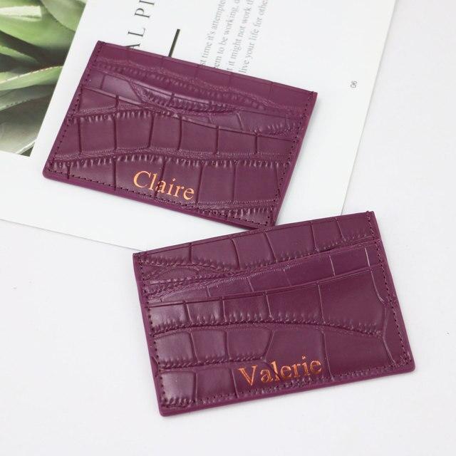Classic Crocodile Pattern Wallet  3