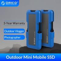 Zewnętrzny dysk SSD ORICO 1TB SSD 128GB 256GB 512GB M.2 NVME SSD NGFF SSD przenośny dysk SSD z typem C USB 3.1