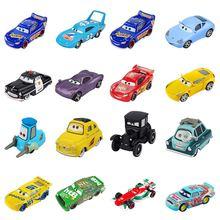 Disney Pixar тачки 3 2 Молния Маккуин Джексон шторм Круз модель автомобиля металлические игрушки Рождественский подарок на год для детей