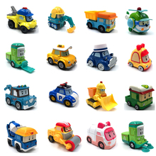 23 Style Robocar Poli Korea Kids Toys Robot Roy Haley Anime Metal Action Figure Car For Children Best Gift