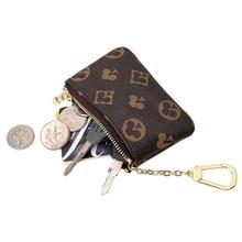 2021 Mini Classical Wallet Purse Brand Designer Decorative Bag for Women Zipper Small Coin Pocket Unisex Leather Key Chian Purse