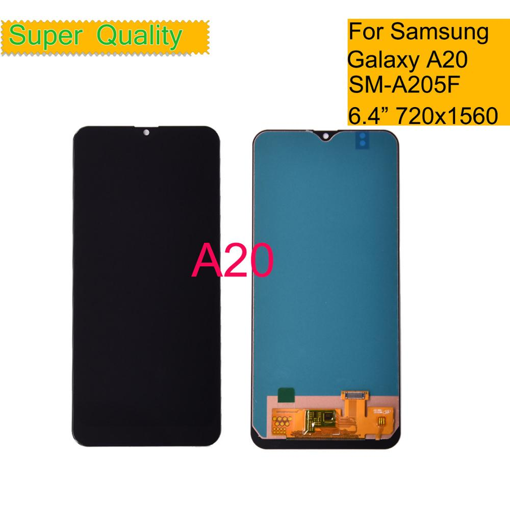 10Pcs/lot INCELL For Samsung Galaxy A20 A205 <font><b>SM</b></font>-<font><b>A205F</b></font> LCD Display Screen replacement for Samsung A20 A205 <font><b>A205F</b></font> display Assembly image