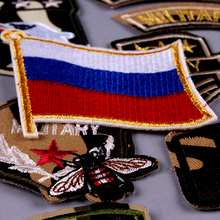Tactical Morale Patch Iron on Patches For Clothing Flag Embroidery Air force Army Military Badges On Clothes F