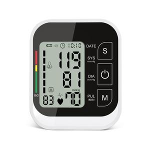 Image 3 - JZIKI LCD numérique automatique bras tensiomètre tonomètre mètre sphygmomanomètre Portable Tensiometro manchette partenaire de santé