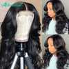 Asteria Hair Body Wave 4*4 Lace Closure Human Hair Wigs For Black Women Brazilian Human Hair Lace Wig High Ratio Remy Hair Weave