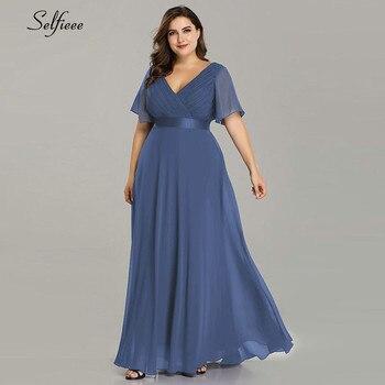 Plus Size Dresses For Women 4xl 5xl 6xl New Beach Long Summer Dress Elegant V Neck Chiffon Party Dress Night Robe Longue Boheme 4