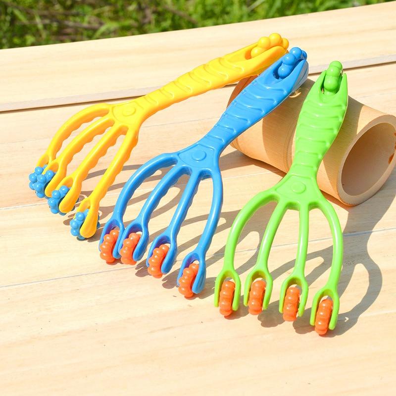Claw Massager Body Massager Octopus Head Scalp Neck Equipment Stress Release Relax Massage Tens Pain Relief Head Care