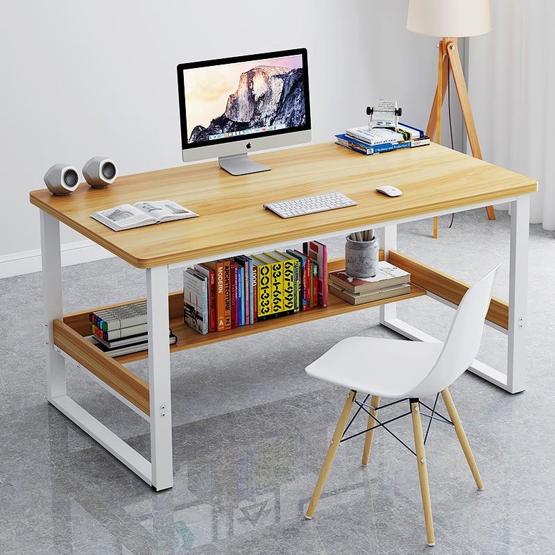 SimplicITy Desktop Computer Desk Household Minimalist Modern Students Bedroom Desk Learning Writing Desk Province Space Office D