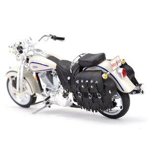 Image 3 - Maisto 1:18 1997 Flsts ヘリテイジスプリンガーダイキャスト合金オートバイモデルのおもちゃ