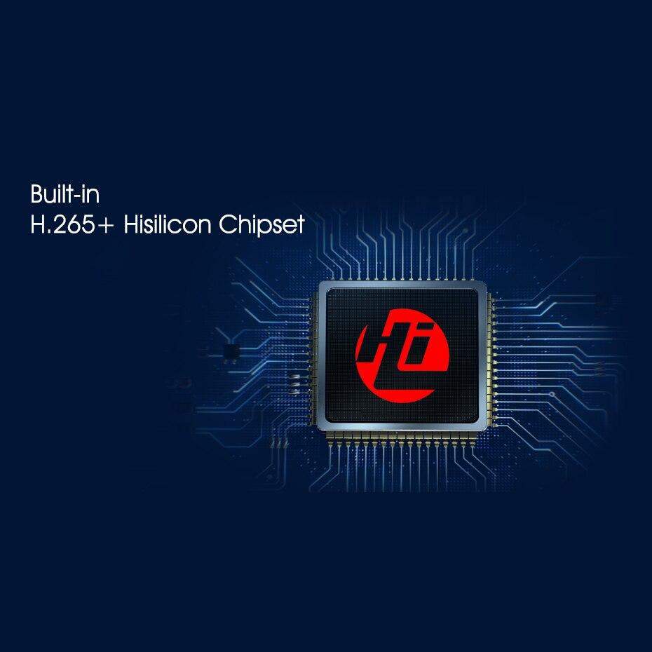 H.265 HEVC 8CH 16CH CCTV NVR pour 5MP/4MP/3MP/2MP ONVIF2.0 IP caméra boîtier métallique enregistreur vidéo réseau P2P pour système de vidéosurveillance - 2