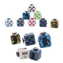 Stres Relief uwaga dekompresja plastikowa ostrość Fidget Gaming Dice zabawka dla dzieci dorosły prezent na boże narodzenie