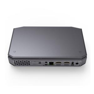 Image 1 - T12 AMD A4 7210 windows10 mini pc LPDDR3 8G 64G support SSD HDD 1000M lan BT4.2 windows 10 mini computer