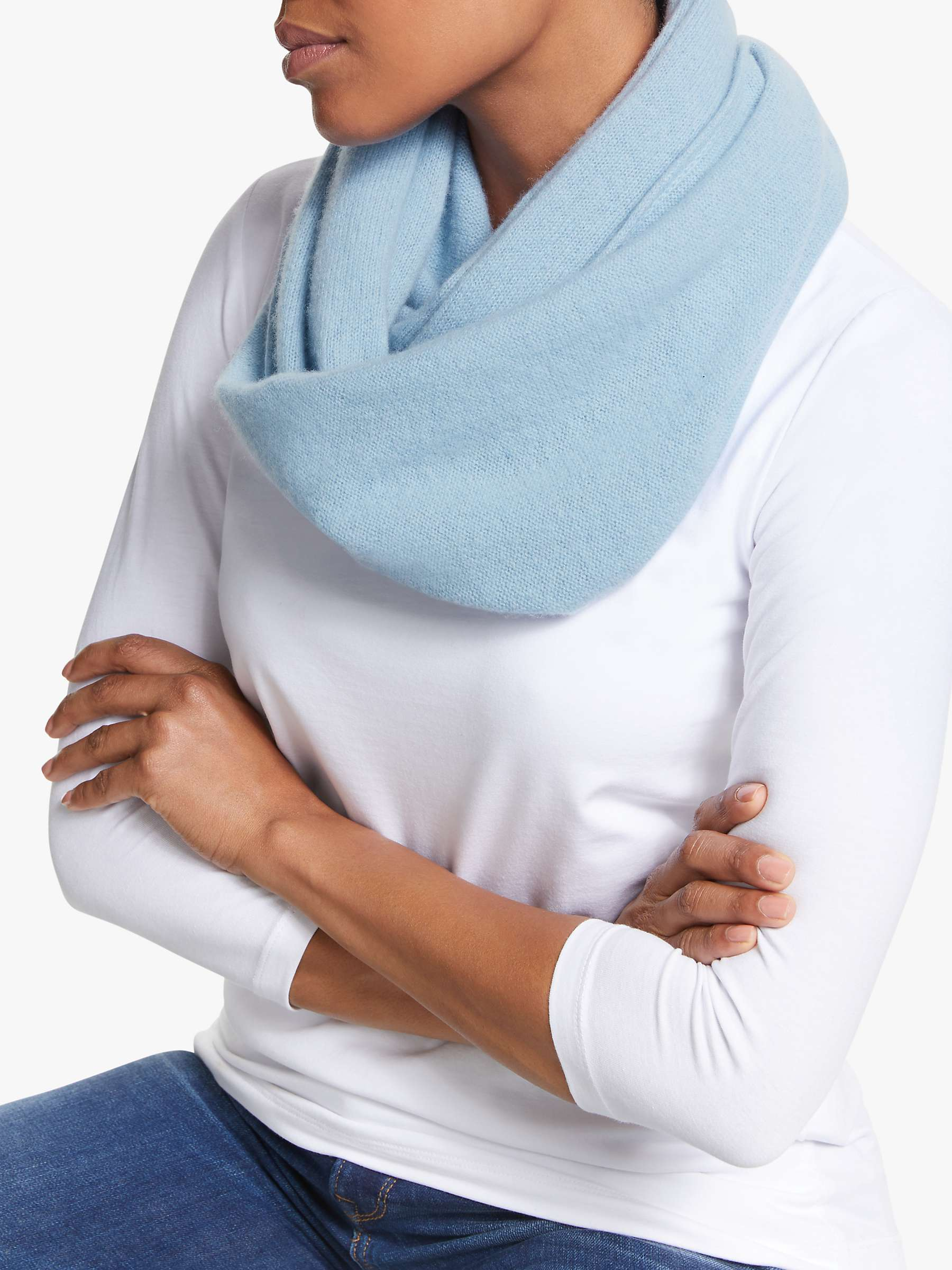 Winter Warm Brushed Knit Cashmere Neck Warmer Circle Go Out Wrap Cowl Loop Snood Shawl Outdoor Ski Climbing Scarf For Men Women