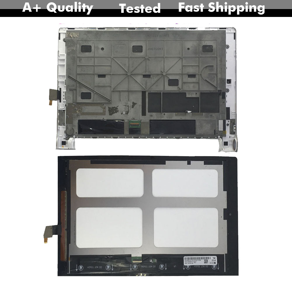 KUERT For Lenovo Yoga 10 <font><b>B8000</b></font> LCD Display Screen Digitizer Touch Panel Glass Assembly with Frame Replacement image