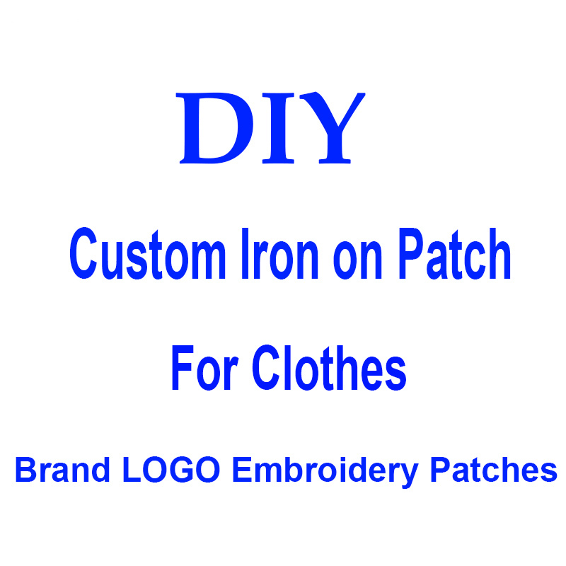 Latest Collection Of Diy Brand Logo Patches For Clothing Jacket Iron On Embroidered Patches For Hat Jeans Sticker Sew-on Patch Applique Badge Decor P Keep You Fit All The Time