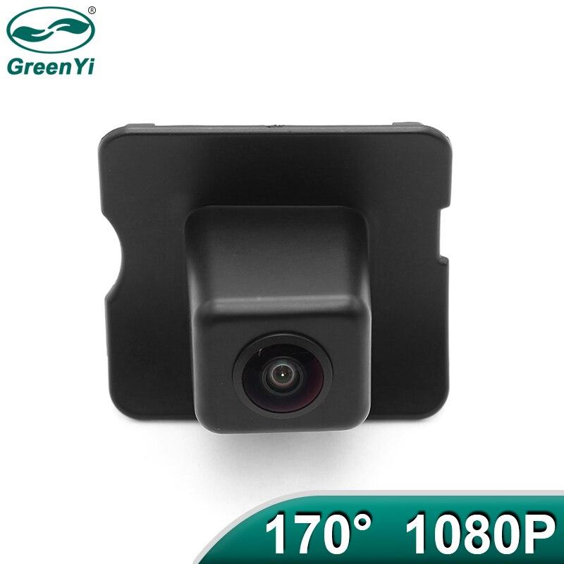 GreenYi 170 derece AHD 1920x1080P özel araç arka görüş kamerası Mercedes Benz ML M W164 ML350 ML330 ML63 araba