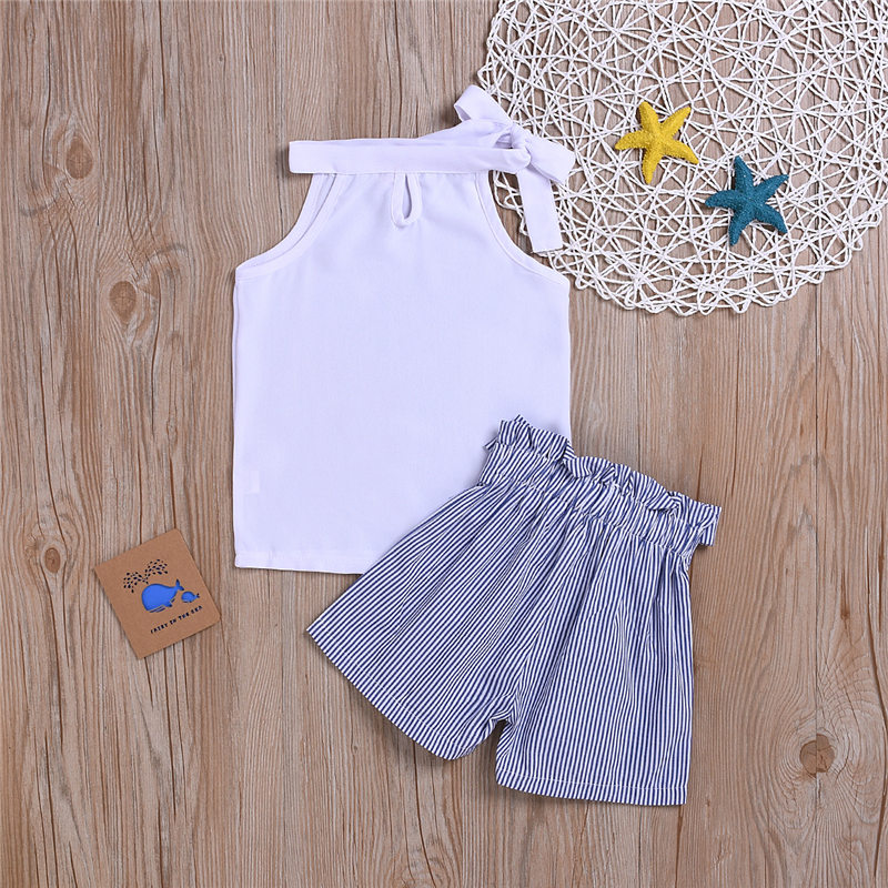 children clothes set kid girl summer outfit (5)