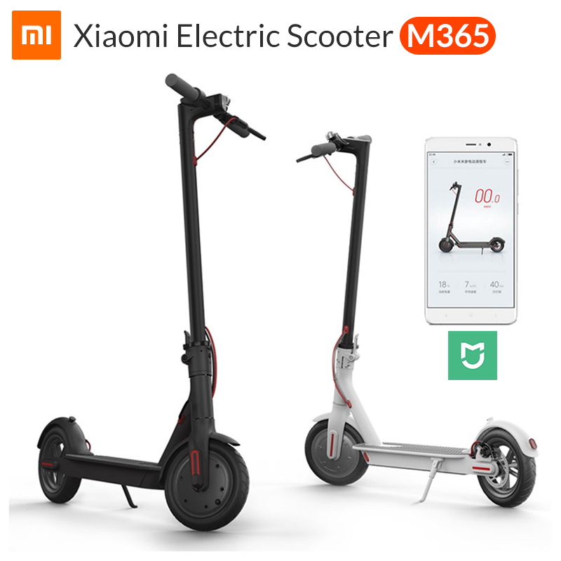 XIAOMI MIJIA m365 electric scooter e scooter e bike electric step scooter foldable Long battery life connectable APP Ultralight