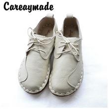 Careaymade оригинальный дизайн из воловьей кожи; Женская обувь;