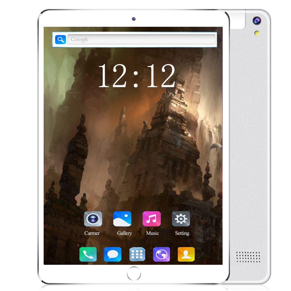 YAHU Tablet PC 10 Inch 4G LTE Tablet PC MTK8752 Octa Core 6GB RAM 128GB ROM Dual SIM 5.0MP GPS Android 8.0 Kids Gifts Tablet PC