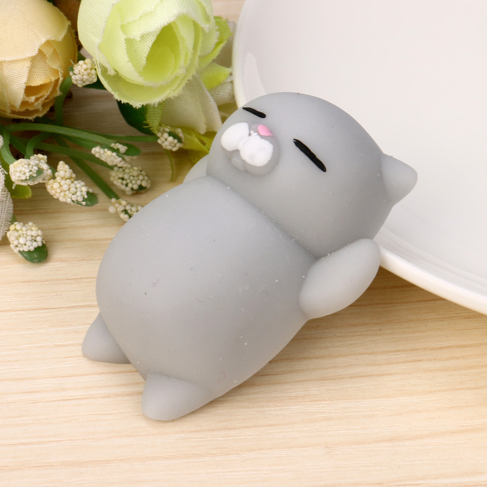 Squishy Toy Rising-Toys Mochi Cute Animal Ball Squeeze Sticky Funny Gift Antistress Soft img4