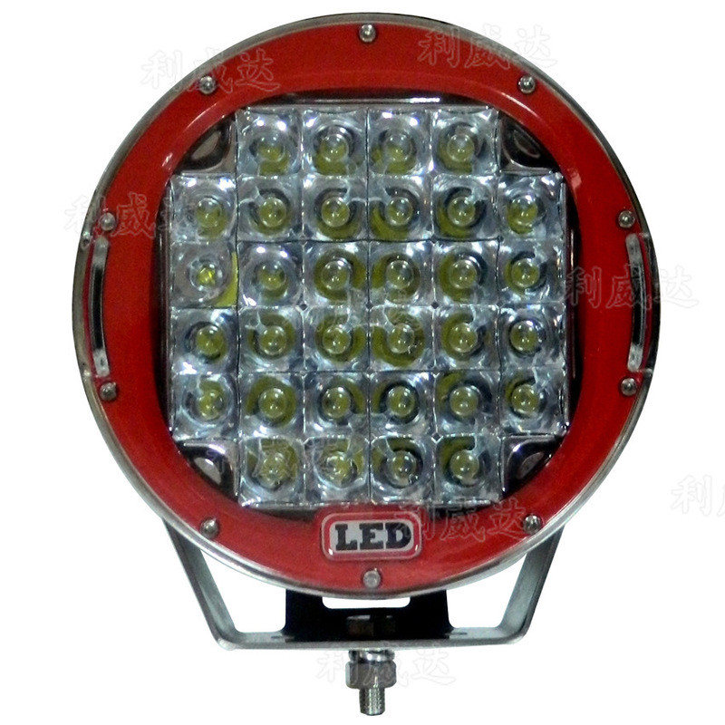 Before The Vectra 96 W Automobile Headlamp Shoots The SUV Auxiliary Lamp High-power Led Work Light