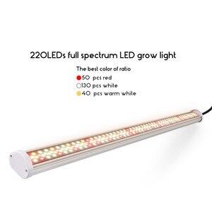 Image 2 - Full Spectrum LED Grow Light 80 วัตต์หลอด LED Phyto โคมไฟ 85V 265V Grow โคมไฟ LED BAR พืช Hydroponic Growth ไฟสีแดง