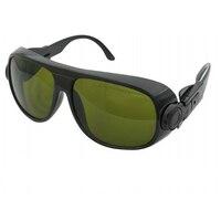 Gafas de protección láser para 190 450nm y 800 1700nm 405nm 808nm 860nm 980nm 1064nm 1320nm 1470nm láser CE|laser safety|laser eyewear|eyewear blue -