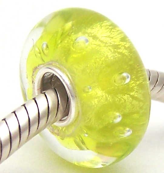 PJG1990 100% S925 Nữ Bạc Hạt Thủy Tinh Murano Hạt Thủy Tinh Phù Hợp Với Châu Âu Vòng Tay Vòng Đeo Tay Hạt Charm DIY Trang Sức Lampwork Glassbeads