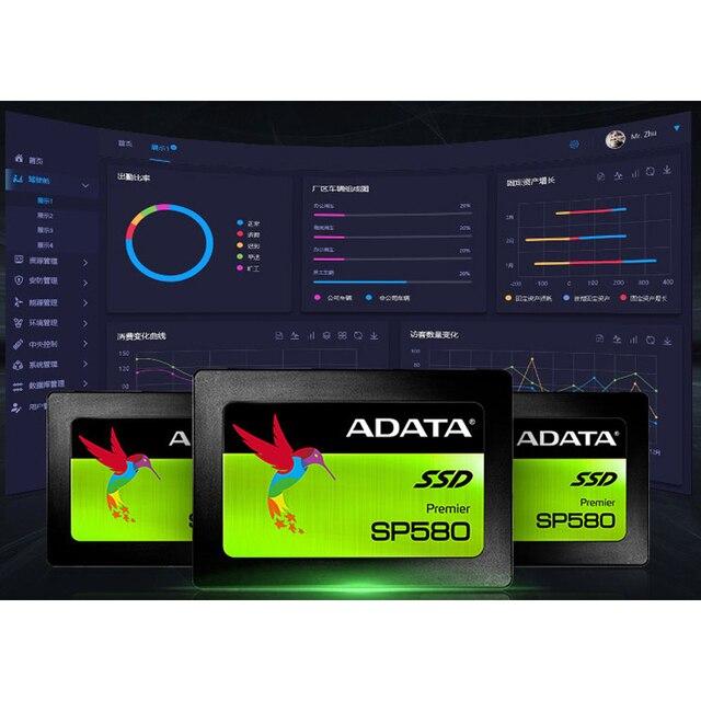 Adata unidade de estado sólido, computador, 120gb 240gb 2.5 polegadas sata iii ssd hdd hd, disco rígido, notebook, pc 480gb 960gb unidade de estado sólido interno 4